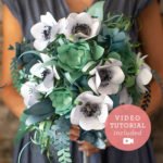 Paper Kit Bridal Bouquet
