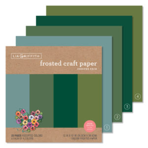 craft paper - conifer pack